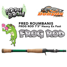 "Load image into Gallery viewer, Dobyns Fred ""Boom Boom"" Roumbanis Frog Rod"