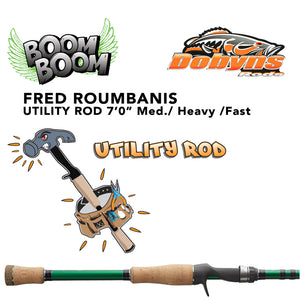 "Dobyns Fred ""Boom Boom"" Roumbanis Utility Rod"