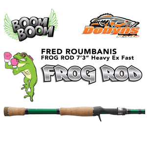 "Dobyns Fred ""Boom Boom"" Roumbanis Frog Rod"