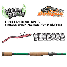 "Load image into Gallery viewer, Dobyns Fred ""Boom Boom"" Roumbanis Finesse Rod"