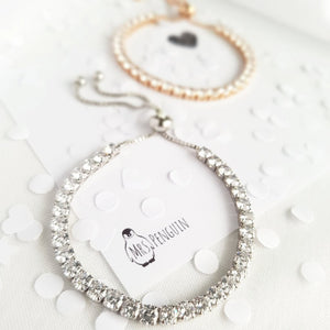 Mrs Penguin 'Tiny Crystals' Bracelet - Mrs-Penguin.com