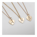 Mrs Penguin 'Personalized Heart Shaped Initial' Necklace - Mrs-Penguin.com