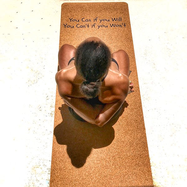 Caring for your Cork Yoga Mat