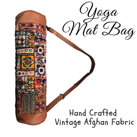 Hand Crafted - Bedouin Yoga Mat Bag