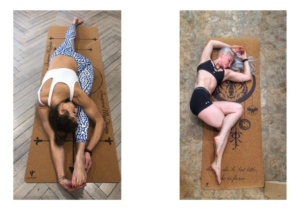 Personalized cork yoga mat, Custom cork yoga mat, Best cork yoga mat,