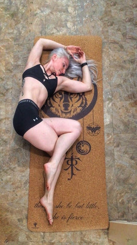 Personalized Cork Yoga Mat