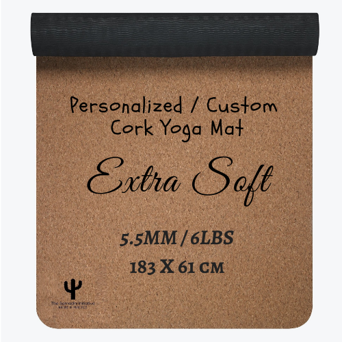 Extra Soft - Personalized Cork Yoga Mat (Eco-Friendly)