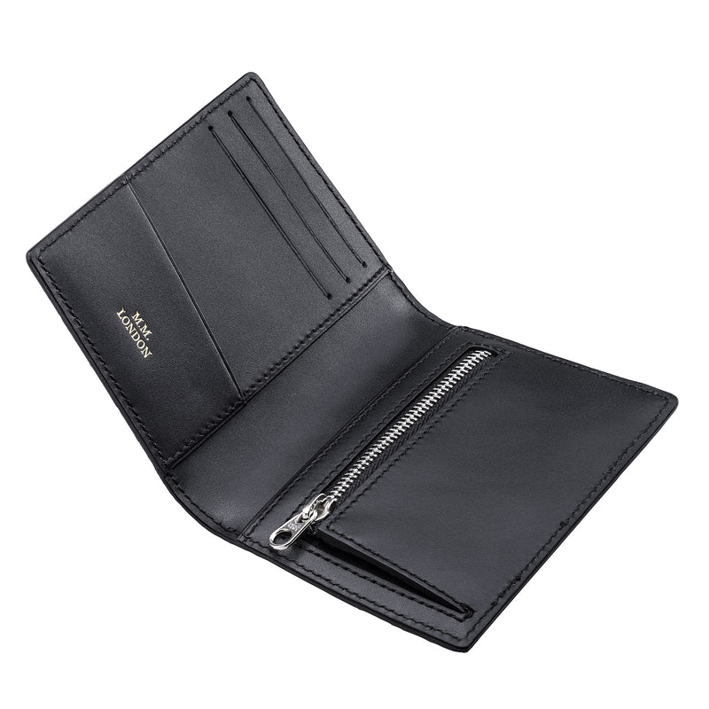 Black Croco Pocket Organiser