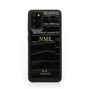 Black Croco Samsung Case (S20 available)