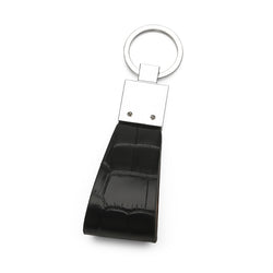 Black Croco Key Holder