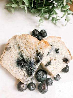 Collagen Blueberry Bread