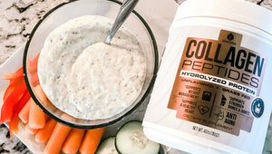 Greek Ranch Dip with Collagen Powder
