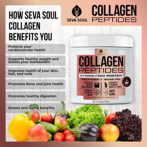 Seva Soul Unflavoured Collagen Powder