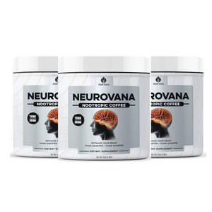 THREE Neurovana Nootropic Coffee: Only $29 Each. Save $45!