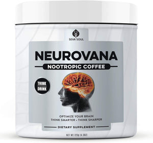 Neurovana Nootropic Coffee - Think Smarter & Sharper