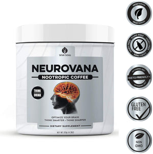 [Upgrade] THREE Neurovana Nootropic Coffee: Only $29 Each. Save $45!