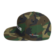 Load image into Gallery viewer, Victorious Glyphs Snapback Hat