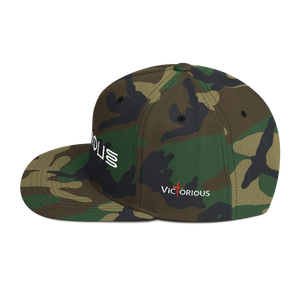 Victorious Glyphs Snapback Hat