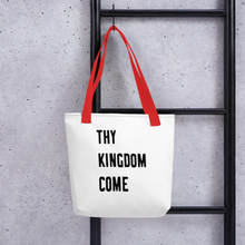 "Load image into Gallery viewer, Victorious ""Thy Kingdom Come"" Tote bag"