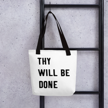 "Load image into Gallery viewer, Victorious ""Thy Will Be Done"" Tote bag"