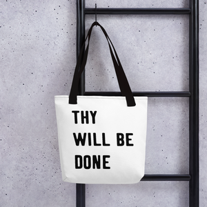 "Victorious ""Thy Will Be Done"" Tote bag"