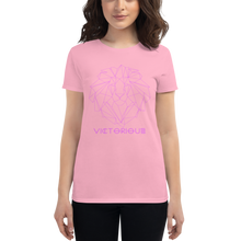 Load image into Gallery viewer, Lion of Judah Pink Women's short sleeve t-shirt