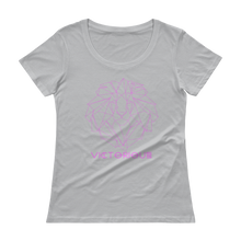 Load image into Gallery viewer, Lion of Judah Ladies Pink Scoopneck T-Shirt