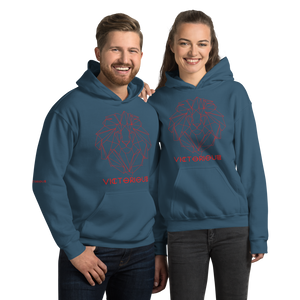 Lion of Judah Red Unisex Hoodie