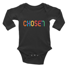 Load image into Gallery viewer, CHOSEN Infant Long Sleeve Bodysuit