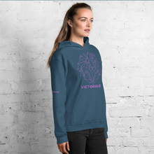 Load image into Gallery viewer, Lion of Judah Pink Unisex Hoodie