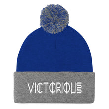 Load image into Gallery viewer, VICTORIOUS Duo Pom Pom Knit Cap