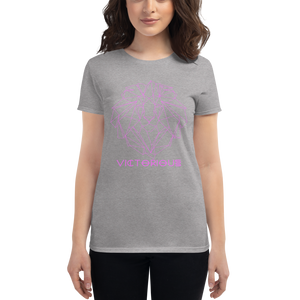Lion of Judah Pink Women's short sleeve t-shirt