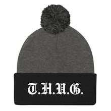 Load image into Gallery viewer, T.H.U.G. Duo Pom Pom Knit Cap