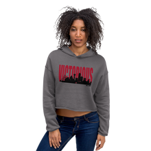 Load image into Gallery viewer, Victorious Est. Crop Hoodie