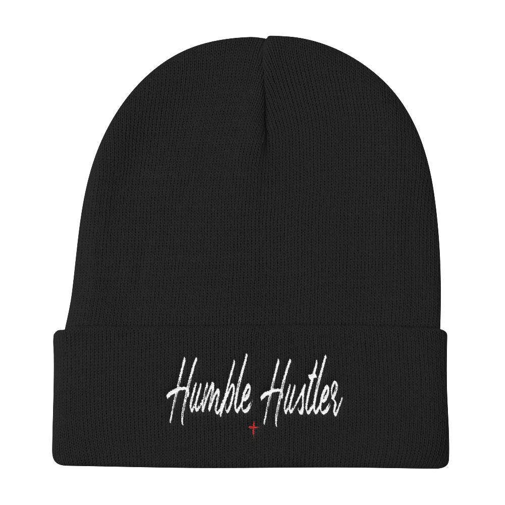 Humble Hustler Embroidered Beanie