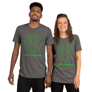 Lion of Judah Green unisex short sleeve t-shirt