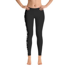 Load image into Gallery viewer, Victorious Glyphs Black Leggings