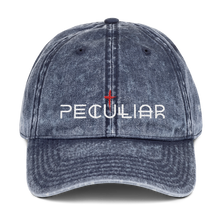 Load image into Gallery viewer, Peculiar Vintage Cotton Twill Cap
