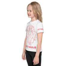 Load image into Gallery viewer, Lion of Judah Red Kids T-Shirt