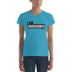 Unashamed (White Letters) Women's short sleeve t-shirt