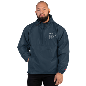 T.H.U.G Unisex Embroidered Champion Packable Jacket