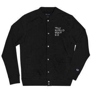 T.H.U.G. Unisex Embroidered Champion Bomber Jacket