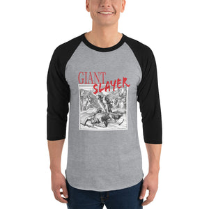 Giant Slayer Unisex 3/4 sleeve raglan shirt
