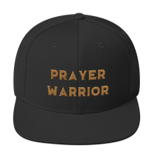 Load image into Gallery viewer, Golden Prayer Warrior Snapback Hat