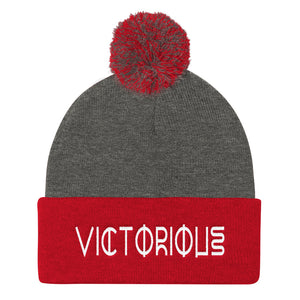 VICTORIOUS Duo Pom Pom Knit Cap