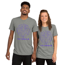 Load image into Gallery viewer, Lion of Judah Purple unisex short sleeve t-shirt