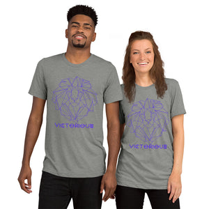 Lion of Judah Purple unisex short sleeve t-shirt