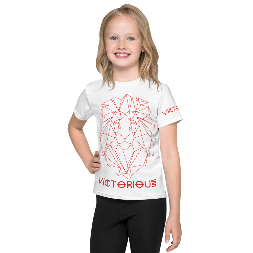 Lion of Judah Red Kids T-Shirt
