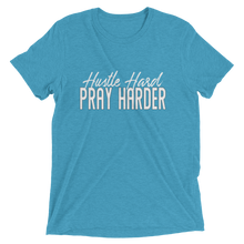 Load image into Gallery viewer, Hustle Hard Pray Harder Unisex short sleeve t-shirt