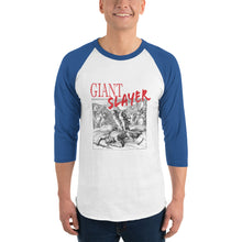 Load image into Gallery viewer, Giant Slayer Unisex 3/4 sleeve raglan shirt